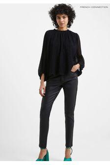 Joules Suzy Stripe Jersey Woven Mix T-Shirt