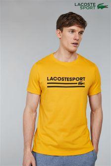 Lacoste® Sport Buttercup Logo T-Shirt