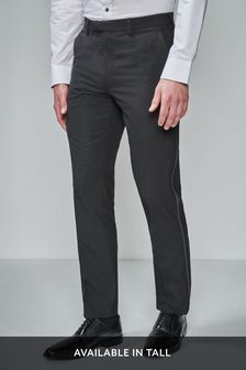Tuxedo Suit: Taped Trousers