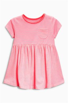 Pink Stripe Tunic (3mths-6yrs)