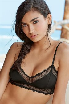 Daisy Lace Non Wire Soft Bralet
