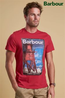 Barbour® Red Historic Print T-Shirt