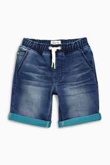 Jersey Denim Shorts (3-12yrs)