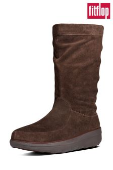 FitFlop™ Brown Slouch Boots
