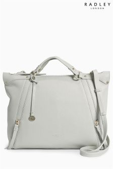 Grey Radley® New Cross Granite Large Zip Top Multiway Bag