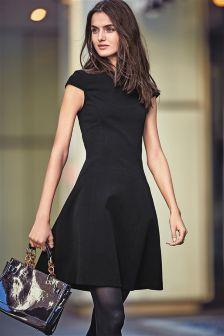 Black Compact Dress