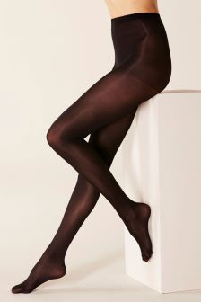 Thermal 60 Denier Opaque Tights Two Pack