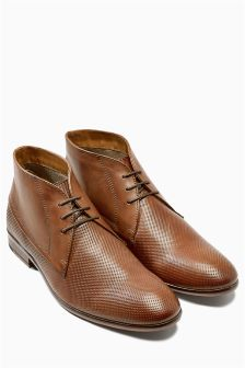 Perforated Chukka Boot
