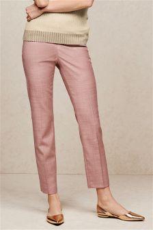 Pink Slim Trousers