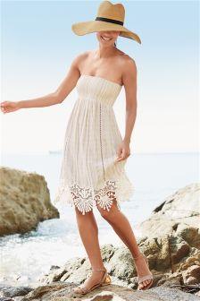 Stripe Pull-On Dress