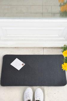 2 Pack Washable Grey Doormat