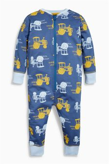 Tractor All Over Print Sleepsuit (9mths-8yrs)