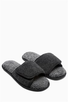 Grey Slider Slipper