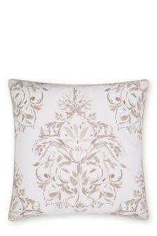 Set Of 2 Elegant Damask Square Pillowcases