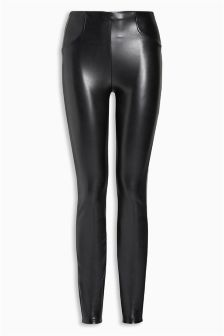 Buy Women's trousers & leggings Trousers Faux Leather Fauxleather ...