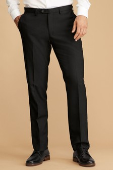 Mens Slim Fit Trousers | Machine Washable Trousers | Next UK