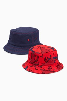 Fisherman's Hats Two Pack (Younger Boys)