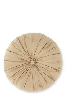 Gold Round Cushion