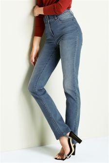 Denim Highwaist Enhancer Slim Jeans