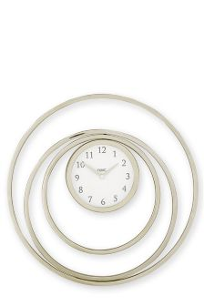 Eternity Chrome Wall Clock