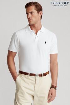 Ralph Lauren Polo Golf White Plain Polo