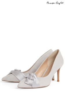 Phase Eight Smoke Gemma Twist Front Court Shoes