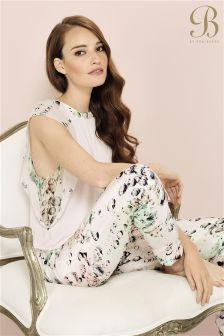 B By Ted Baker Crystal Droplets Printed Pyjama Pant