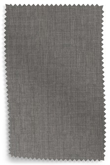 Simple Contemporary Mid Grey Upholstery Fabric Sample