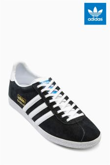 Black adidas Originals Gazelle OG
