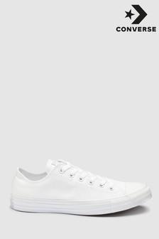 Converse White/White Chuck Ox