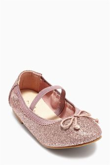 Glitter Pumps (Younger Girls)