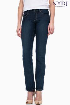 NYDJ Indigo Straight Leg Jean Regular Length