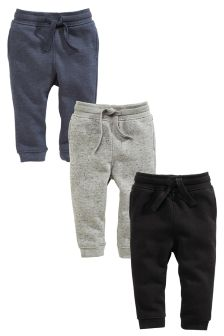 Textured Jogger Three Pack (3mths-6yrs)