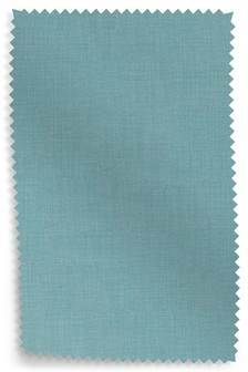Simple Contemporary Teal Upholstery Fabric Sample