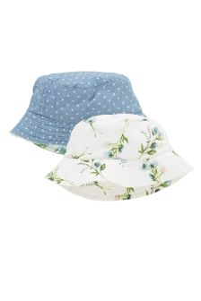 Floral and Spot Fisherman Hats Two Pack (Younger Girls)