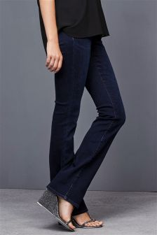 High Waist Enhancer Boot Cut Jeans