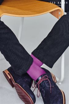 Ted Baker Dark Blue Nubuck Fanngo Brogue