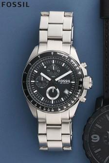 Silver (Metal) Fossil™ Decker Watch