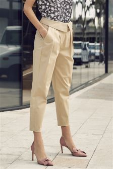 Envelope Waist Trousers