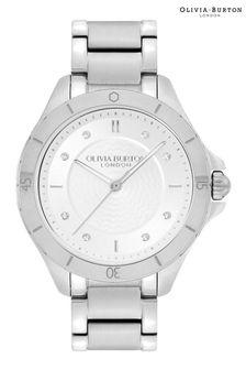 Boden Blue Appliqué Pocket Dress