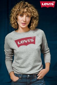 Levi's® Smokestack Heather Relaxed Graphic Crew