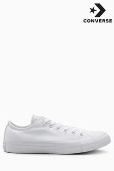 White Converse Chuck Ox