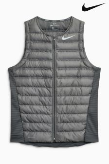 Nike Grey AeroLoft Golf Vest