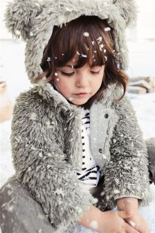 Faux Fur Jacket (12mths-6yrs)