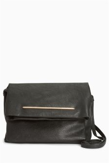 Foldover Across Body Bag
