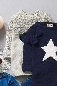 Scallop Jumper Dress (3mths-6yrs)