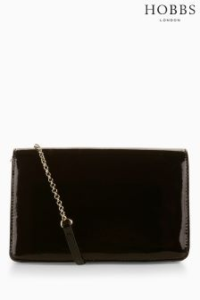 Hobbs Black Chiswick Clutch