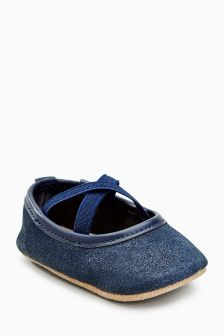 Pram Ballet Shoes (Younger Girls)
