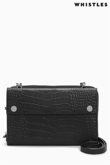 Whistles Black Cross Body Bag