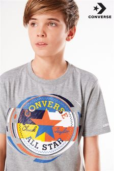 Converse Colourblock Chuck Logo T-Shirt